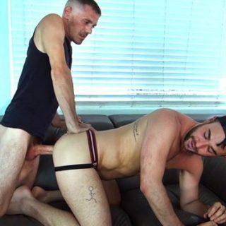 Alex Mason Takes Huge White Trash Cock