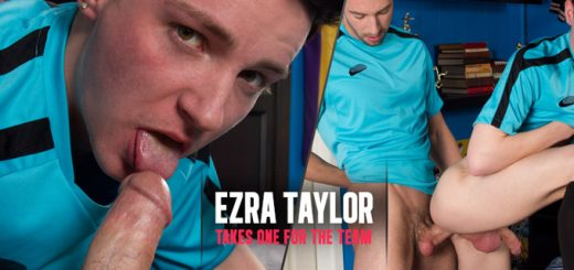 Ezra Taylor Takes One For The Team Hayden Clark