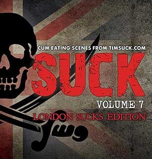 LONDON SUCKS (TIMSUCK VOLUME 7) is a new collection of cum guzzling suck scenes from across the pond helmed by director Liam Cole and especially selected from our Membership site TIMSUCK.