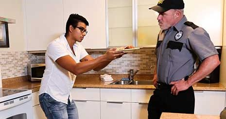 Jay Seabrook is all alone with his step father Dale Savage while his mom is in jail. Jay tries his best to get on Dale's good side, he'll cook food, clean the house and he'll even get straight A's...