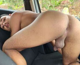 You'd love to know all the cruisy places horny boy David likes to go around town, getting naked in his car and hoping a horny guy stops by to suck his dick of fuck his hot little butt.