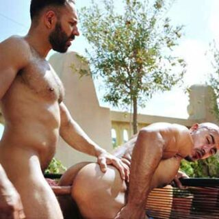 Get me some oiled up alpha muscle Mario Galeno under the Barcelona, you asked? Well, it's your lucky day. Not just one Muscle God, but two! A scene with both Vicenzo and Mario is truly a...